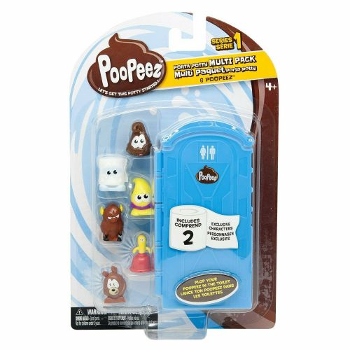 Poopeez Series 1 Porta Potty Multi Pack